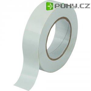 Izolační páska SW10-155, 19 mm x 10 m, bílá