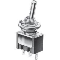 Mini kolébkový přepínač Marquardt 9040.0101, 30 V/DC, 4 A, 1x zap/zap, 1 ks