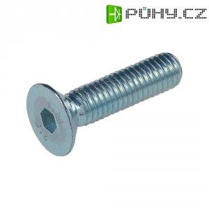 Šrouby s vnitřním šestihranem TOOLCRAFT 839627 DIN 7991 12 mm vnitřní šestihran ocel pozinkované 20 ks