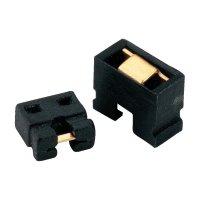 Kódovací a adresovací můstek, rastr 2 mm, černá