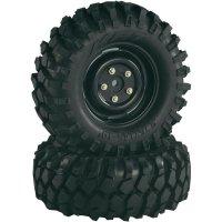 Monstertruck kolo Absima, ráfek Crawler, 1:10, 12 mm 6-hran, černá, 2 ks (2500031)