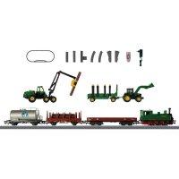 Startovací sada H0 nákladního vlaku a parní lokomotivy třídy T3 Märklin World 29310