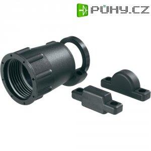 Úchyt a ochrana kabelu TE Connectivity 182663-1, 600 V/AC, černá