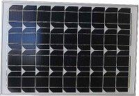 Fotovoltaický solární panel 12V/50W/2,48A monokrystalický