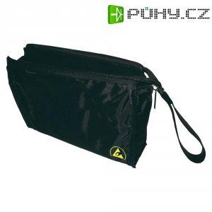 ESD taška na výbavu BJZ C-205 80, (d x š x v) 220 x 50 x 150 mm, černá