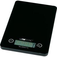 Skleněná kuchyňská váha Clatronic KW 2255, černá