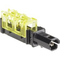 IDC konektor Vogt Verbindungstechnik, 3924N, 0,2 - 0,5 mm², 2pólová, černá/žlutá