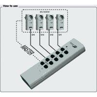 Bezdrátová zásuvka Home Easy, HE808S, 3 ks