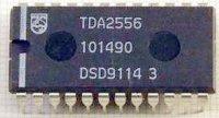 TDA2556 - kvaziparalelní zvuk pro TV, DIP24