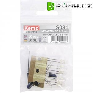 Sada LED Kemo, S081, 870 nm, 5 mm