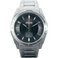 Ručičkové náramkové DCF hodinky Eurochron EFAU 9202, pásek z nerezové oceli