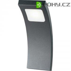 Venkovní nástěnné LED svítidlo Curve 13801, 3 W, antracit
