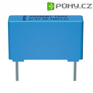 Foliový kondenzátor Epcos MKT B32522-C1105-K, 1 uF, 100 V/AC, 10 %