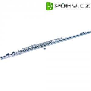 Příčná flétna QP-10 C, stříbrná