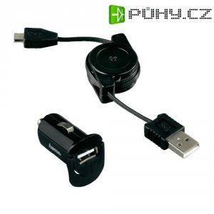 Nabíječka Hama Picco 12 V, vč.USB navíjecího kabelu pro micro USB