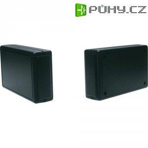 Plastové krabičky 2834 Strapubox, (d x š x v) 100 x 60 x 25 mm, černá (2834 SW)