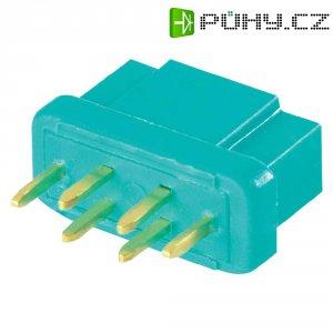Konektor pro vysoký odběr Modelcraft, zásuvka, zelená