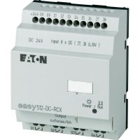Řídicí reléový PLC modul Eaton easy 512-DC-RCX (274110), IP20, 4x relé, 24 V/DC