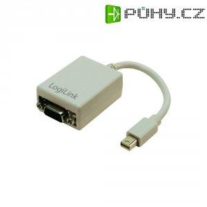DisplayPort / VGA adaptér LogiLink CV0038 CV0038, [1x mini DisplayPort zástrčka - 1x VGA zásuvka], bílá