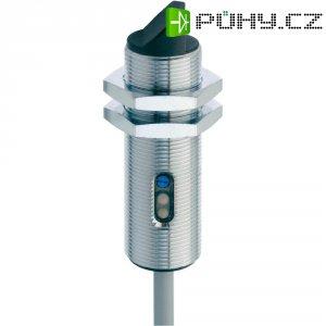 Reflexní optická závora série M18 Contrinex LTK-1180W-103, kabel 2 m, dosah 40 - 600 mm