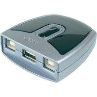 Elektronický USB přepínač, 2x USB