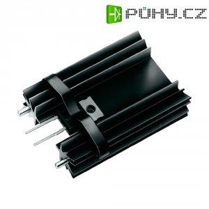 Prolisovaný chladič na DPS Fischer El. SK 104 25,4 STC-220, 34,9 x 25,4 x 12,7 mm