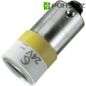 Spot Light, patice BA9S Signal Construct MELB2214 žluté