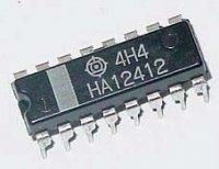 HA12412 FM tuner