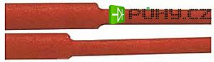 Smršťovací bužírka 16,0/8,0mm červená
