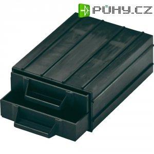 ESD zásuvka na součástky BJZ C-188 102, 120 x 87 x 20 mm, černý