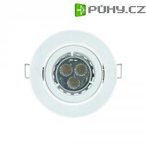 Vestavné světlo Osram KIT LED Pro, 7,5 W, kulatý, bílá/hliník