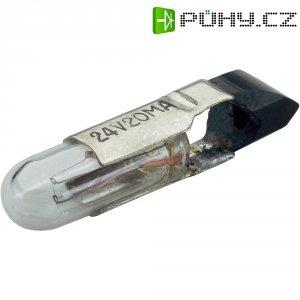 Telefonní nástrčná žárovka Barthelme 00522420, 24 V, 0,48 W