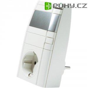 Bezdrátový fázový stmívač HomeMatic, 132087, 1kanálový, CZ zástrčka