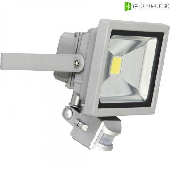 Venkovní LED reflektor s PIR detektorem XQ lite XQ1226, 20 W, šedá - Kliknutím na obrázek zavřete