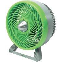 Stolní ventilátor Chillout GF603E4, Ø 18 cm, 31 W, zelená/šedá