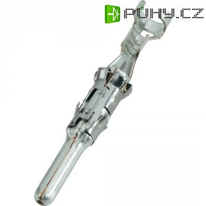 Kulatý kontakt TE Connectivity 1703018-1, zástrčka rovná, 1pól., 50 A, dle DIN 72595