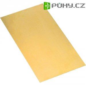 Fosforbronzová deska Modelcraft 200 x 150 x 0,2 mm