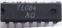 TL084 /B084D/ 4xOZ J-FET DIP14, RFT