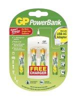 GP nabíječka baterií PB310 + 2AA, 2AAA GP Smart Energy