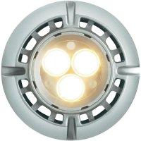 LED žárovka Sygonix, E14, 5 W, 230 V, 85 mm, stmívatelná, teplá bílá
