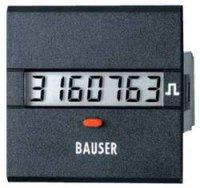 Digitální čítač impulsů Bauser, 3811,3,1,1,0,2, 12 - 24 V/DC, 45 x 45 mm, IP54