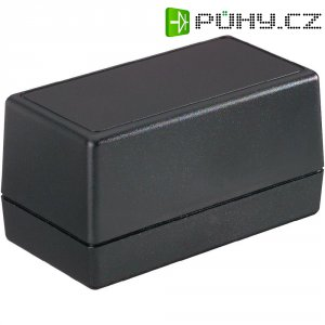 Plastové pouzdro Strapubox, (d x š x v) 148 x 78 x 80 mm, černá