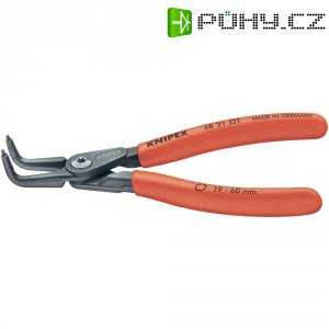 Kleště zahnuté pro vnitřní pojistné kroužky Knipex 48 21 J31, 40 - 100 mm