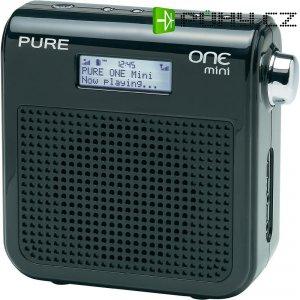 DAB+ rádio Pure One Mini VL-61875, FM, černá