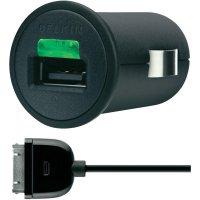 USB nabíječka do auta Belkin, včetně Apple konektoru
