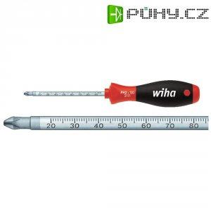 Křížový šroubovák s měřítkem Wiha SoftFinish 3131 35399, PZ 2, čepel 100 mm