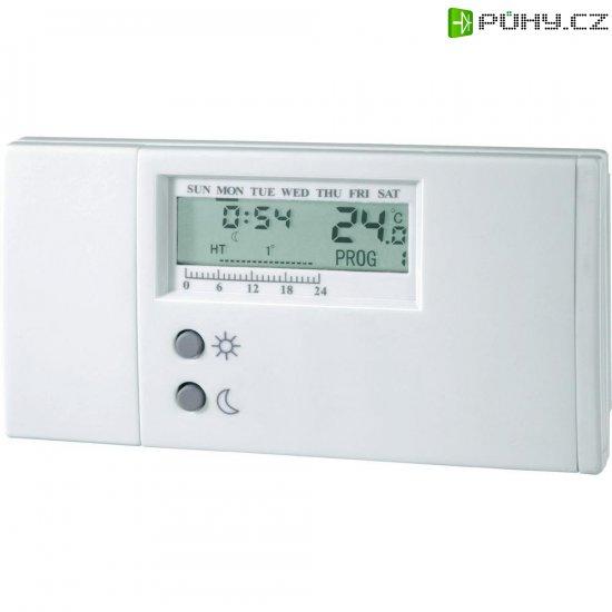 Pokojový termostat s týdenním programem TS-101, bílá - Kliknutím na obrázek zavřete