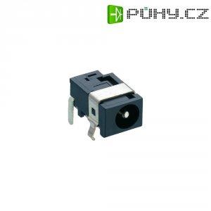 Napájecí konektor Lumberg 1613 07, Rozpínač, zásuvka vestavná horizontální, 5,15 mm