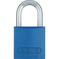 Visací zámek na klíč ABUS ABVS46772, 39 mm, modrá