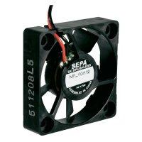 Mini ventilátor SEPA MF_40H12, 40 x 40 x 10 mm, 12 V/DC